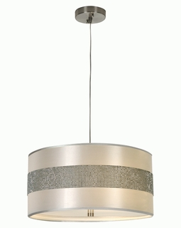 BP9709 Trend Harmony Pendant with Metallic Silver Finish (DISCONTINUED PRODUCT)