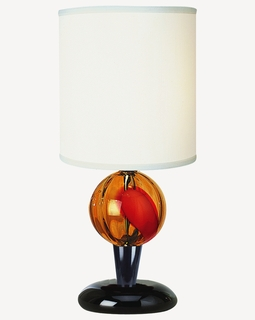 "BT1200 Trend ""Soleil"" Accent Lamp with Ebony Lacquer (DISCONTINUED PRODUCT)"