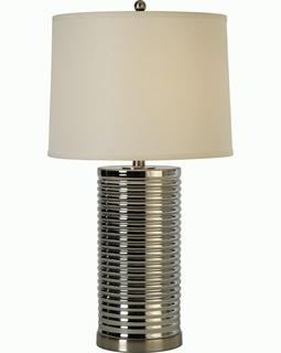BT6731 Trend Arctica Table Lamp with Brushed Nickel (DISCONTINUED PRODUCT)