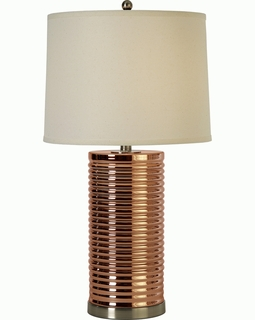 BT6733 Trend Arctica Table Lamp with Brushed Nickel (DISCONTINUED PRODUCT)