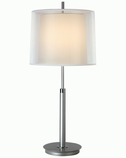 BT7143 Trend Nimbus Table Lamp with Metallic Silver/ Polished Chrome Finish (DISCONTINUED PRODUCT)