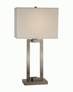 BT7470 Trend Riley Table Lamp with Brushed Nickel (DISCONTINUED PRODUCT)