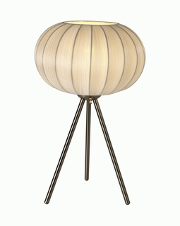 BT7913-W Trend Shanghai Table Lamp with Brushed Nickel (DISCONTINUED PRODUCT)