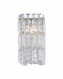 BV1201-0-15 Alico King Crown (1) Light 60 Watt Vanity Light Fixture with Chrome Finish