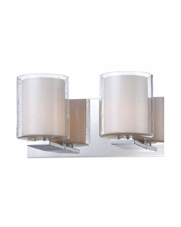 BV1412-90-15 Alico Combo (2) Light 60 Watt Vanity Light Fixture with Chrome Finish