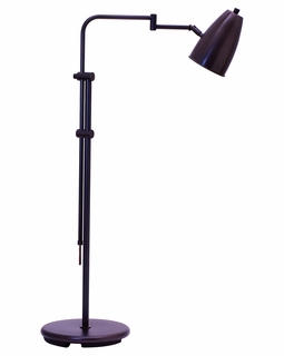 """C100-OB House of Troy Adjustable 36""""-50"""" Oil Rubbed Bronze Floor Lamp"""
