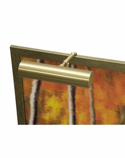 """C9-51-CA House of Troy Contemporary 9"""" CA Compliant Satin Brass Picture Light"""