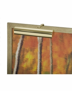 """C9-61-CA House of Troy Contemporary 9"""" CA Compliant Polished Brass Picture Light"""