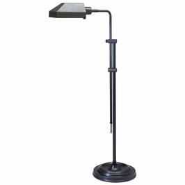 CH825-OB House of Troy Coach Adjustable Oil Rubbed Bronze Pharmacy Floor Lamp
