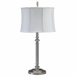 """CH850-AS House of Troy Coach 30"""" Antique Silver Table Lamp"""