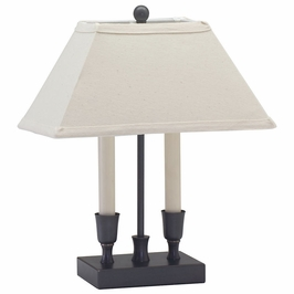 """CH880-OB House of Troy Coach 15"""" Oil Rubbed Bronze Table Lamp"""