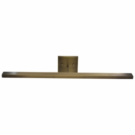 """DHLEDZ26-71 House of Troy Direct Wire Horizon 26"""" LED Picture Light in Antique Brass"""