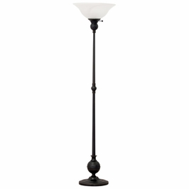"E900-OB House of Troy Essex 69"" torchiere floor lamp in oil rubbed bronze"