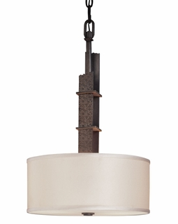 F2616 Troy Sapporo Small Sapporo Silver 2 Light Pendant