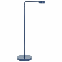 G400-NB House of Troy Generation Adjustable LED Floor Lamp in Navy Blue