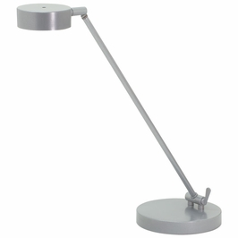 G450-PG House of Troy Generation Adjustable LED Table Lamp in Platinum Gray