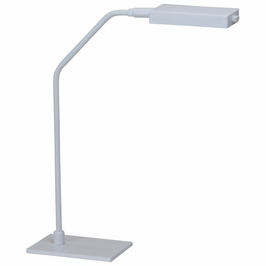 G550-WT House of Troy Generation LED table lamp in white