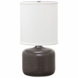"""GS120-BM House of Troy Scatchard 19.5"""" Table Lamp"""
