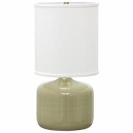 "GS120-CG House of Troy Scatchard 19.5"" Table Lamp"