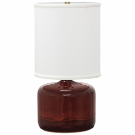 "GS120-CR House of Troy Scatchard 19.5"" Table Lamp"