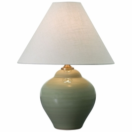 "GS130-CG House of Troy Scatchard 21.5"" Celadon Gloss Table Lamp"