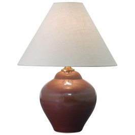 "GS130-IR House of Troy Scatchard 21.5"" Iron Red Table Lamp"