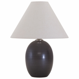 "GS140-BM House of Troy Scatchard 22.5"" Stoneware Table Lamp"