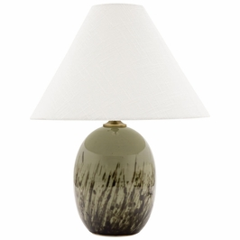 """GS140-DCG House of Troy 22.5"""" Scatchard Table Lamp in Decorated Celadon"""