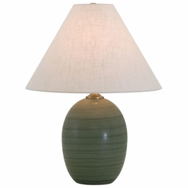 "GS140-GM House of Troy Scatchard 22.5"" Stoneware Table Lamp"