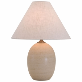 """GS140-OT House of Troy Scatchard 22.5"""" Stoneware Table Lamp"""