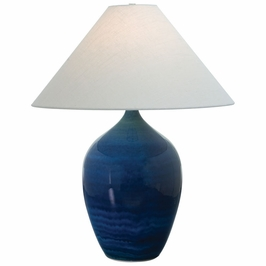 """GS190-BG House of Troy Scatchard 29"""" Stoneware Table Lamp"""