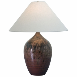 """GS190-DR House of Troy Scatchard 29"""" Stoneware Table Lamp"""