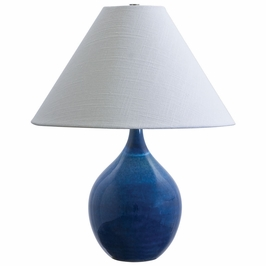 "GS200-BG House of Troy Scatchard 19"" Stoneware Accent Lamp"