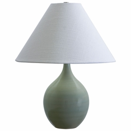 """GS200-CG House of Troy Scatchard 19"""" Stoneware Accent Lamp"""