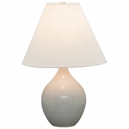 """GS200-GG House of Troy Scatchard 19"""" Stoneware Accent Lamp"""