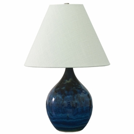 """GS200-MID House of Troy Scatchard 19"""" Stoneware Accent Lamp"""