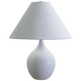 "GS200-WM House of Troy Scatchard 19"" Stoneware Accent Lamp"