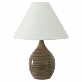 """GS300-TE House of Troy Scatchard 22.5"""" Stoneware Table Lamp"""