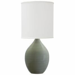 """GS301-CG House of Troy Scatchard 24"""" Stoneware Table Lamp"""