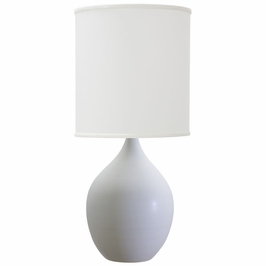 "GS301-WM House of Troy Scatchard 24"" Stoneware Table Lamp"