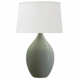 """GS302-CG House of Troy Scatchard 21"""" Stoneware Table Lamp"""