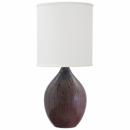 """GS401-DR House of Troy Scatchard 30"""" Stoneware Table Lamp"""