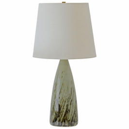 "GS850-DCG House of Troy Scatchard 25.5"" table lamp in decorated celadon"