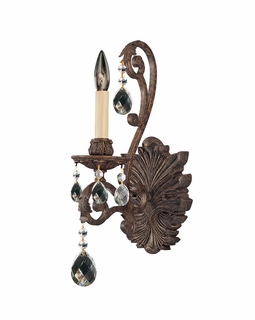 GZ-9-9612-1-49 Savoy House Lighting Versailles 1 Light Sconce