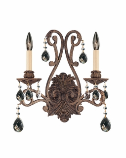 GZ-9-9612-2-49 Savoy House Lighting Versailles Wall Sconce Light PD
