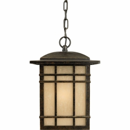HC1909IBFL Quoizel Hillcrest Outdoor Fixture 120v CFL Self Ballasted (1) Light with Imperial Bronze Finish
