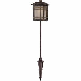 HC2006IB Quoizel Hillcrest Outdoor Fixture 12v T5 Wedge (1) Light with Imperial Bronze Finish