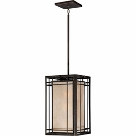 HC5203IB Quoizel Hillcrest Outdoor Fixture 120v A19 Medium Base (3) Light with Imperial Bronze Finish