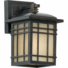 HC8406IB Quoizel Hillcrest Outdoor Fixture 120v A19 Medium Base (1) Light with Imperial Bronze Finish