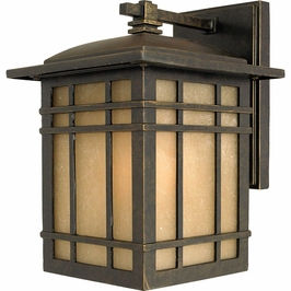 HC8407IBFL Quoizel Hillcrest Outdoor Fixture 120v CFL Self Ballasted (1) Light with Imperial Bronze Finish